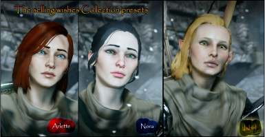 Collection presets. The selling wishes.