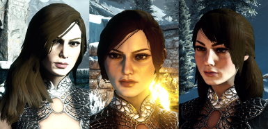 Three Hairstyles for HF