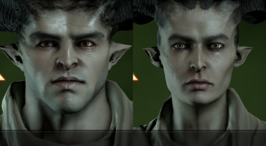 Complexions for Qunari
