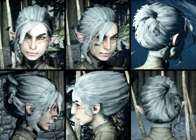 Frisuren Dragon Age Inquisition Mod Frisur Frisur