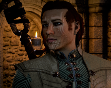 Vakarian -  Human Male Inquisitor sliders (no mods) with optional save game files