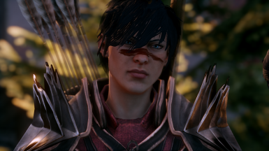 Pixie cut for HF inquisitor (DA2 iconic hawke inspired)