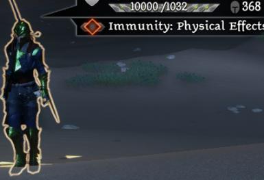 New Warrior Passive - Physical Immunity on Guard
