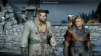 Varric's Chest Doesn't Change Colour
