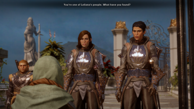 Inquisitor as Cassandra, Varric as Inquisitor
