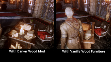 darker wood comparison