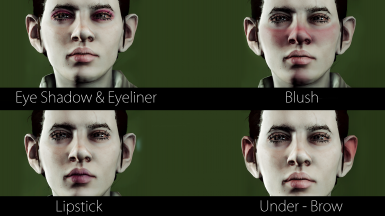 Sid's Personal Remake of Inquisition's Makeup