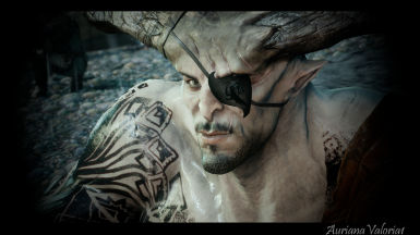 Dragon Eyepatch for Iron Bull