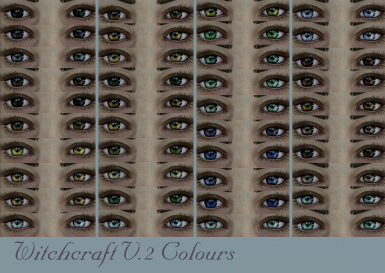 Witchcraft V.2 Colours
