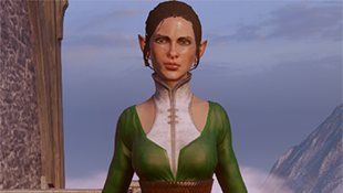 Elf Female NPC Dress For Inquisitor (PJ Formal Wear and Wedding Dress Replacer)