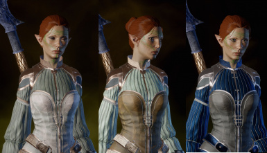 Elf Female Circle Robe Mod (tintable)