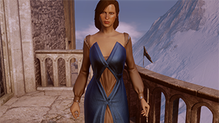 Human Female NPC Dress For Inquisitor (PJ Formal Wedding and Prologue Replacer)