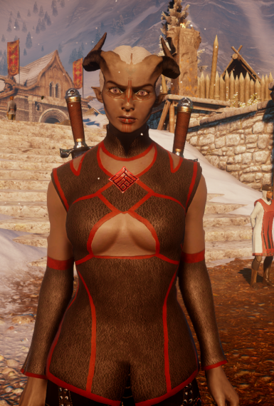 Female Qunari Skyhold Outfit at Dragon Age: Inquisition ...