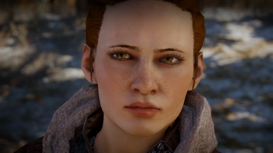 Mature Skin + New Freckle Overlay