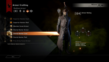 BUG FIX Sturdy and Superior Hunter Coat and Armour