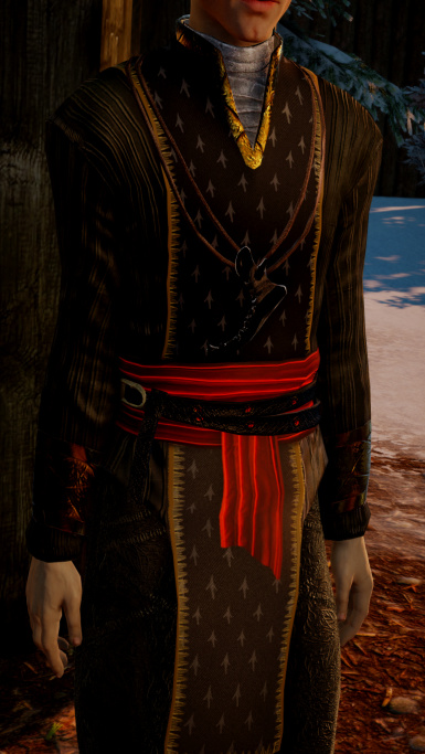 Rising wolf - Solas outfit retext