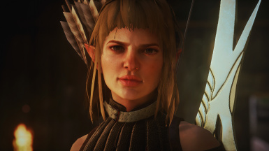 Hairstyle and Complexion for Sera