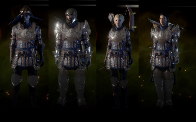 Warden Armour Colour Changes