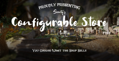 Svarty's Configurable Store