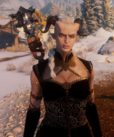 Qunari Female - lightest skin