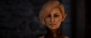 My hair mod for Ellanas