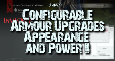 Svarty's Configurable Armour Upgrades Appearance and Power II