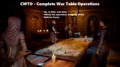 Complete War Table Operations without waiting - for Frosty