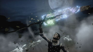 Moonlight Chromatic Greatsword