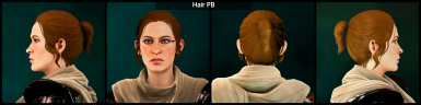Replaces this hair for elves, humans and dwarves