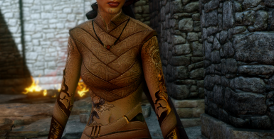 Elven Skyhold Outfit Retexture