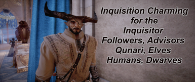 Frosty Inquisition Charming for the Inquisitor Followers and Advisors For Qunari Elves Humans and Dwarves