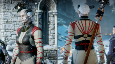 Female retex - front and back