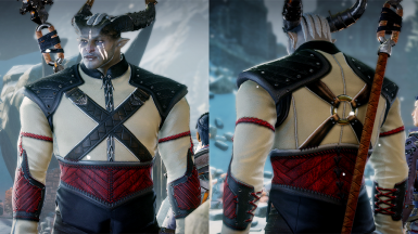 Male retex - front and back