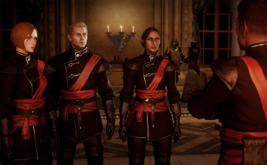 Red and Black Halamshiral Finery