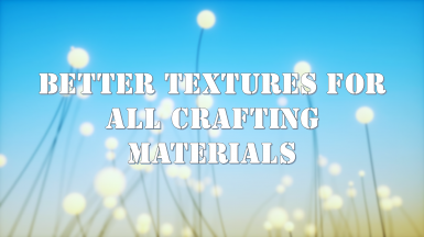 Better Textures For All Crafting Materials