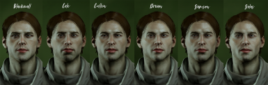 Shader changes for human male