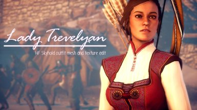 Lady Trevelyan - Pajamas mesh and texture edit