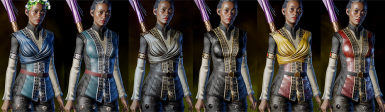 Human Female Skyhold Outfit Retextures
