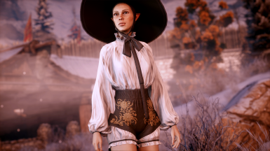 Orlesian Bard Outfit