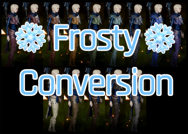 PJ and Light Armor Tinting Tweaks FOR FROSTY