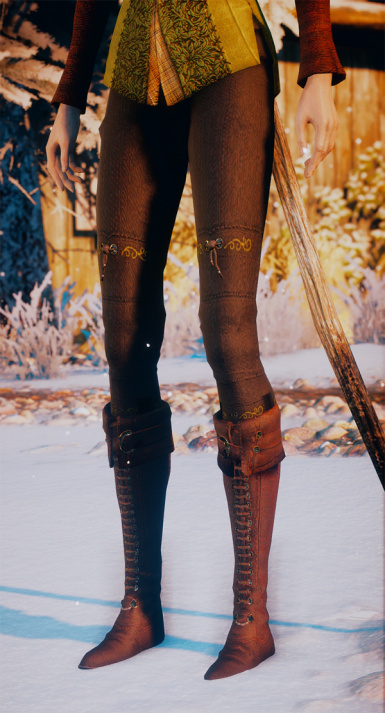 Updated pants and boots version 2