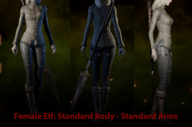EF Standard with Standard Arms