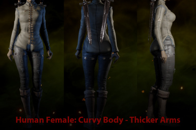 HF Curvy with Thicker Arms