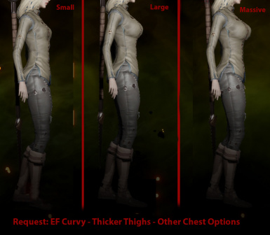 Request - EF Curvy - Thick Thighs - Other Chest Options
