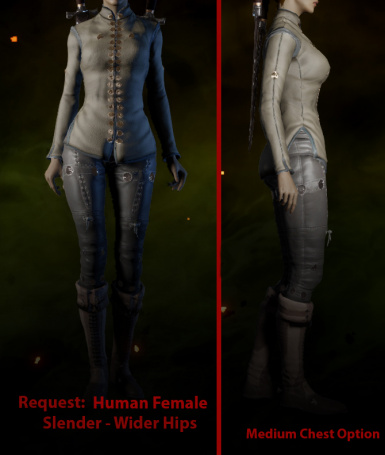 Request - HF Slender with Wider Hips