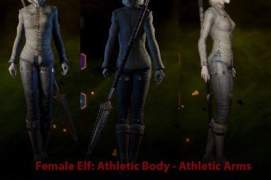 EF Athletic with Athletic Arms