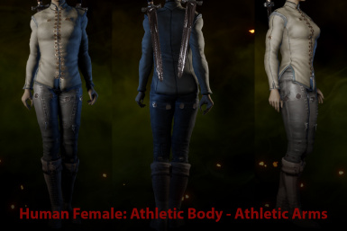 HF Athletic with Athletic Arms