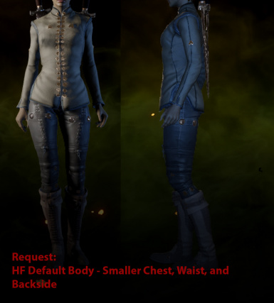 Request - HF Small Chest - Backside - and Waist