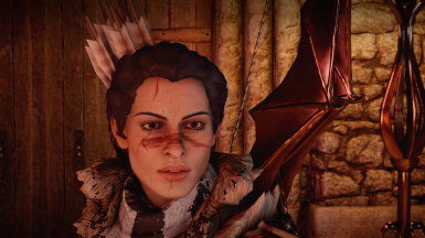 Thank you for this mod!!!! She is using the Calpernia's skin-real v0.3 - no deshine complexion
