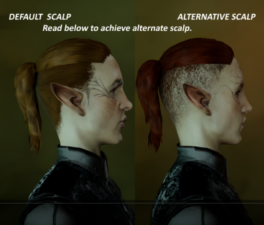 Undercut Ponytail Complete Replacement Mf At Dragon Age Inquisition